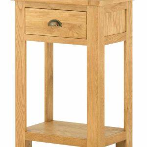 Richmond Light Oak Console Table  | Fully Assembled