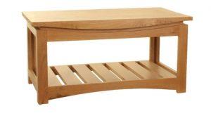 Baumhaus Roscoe Contemporary Oak Coffee Table