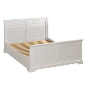 Berkeley Painted Grey 5′ King Size Sleigh Bed