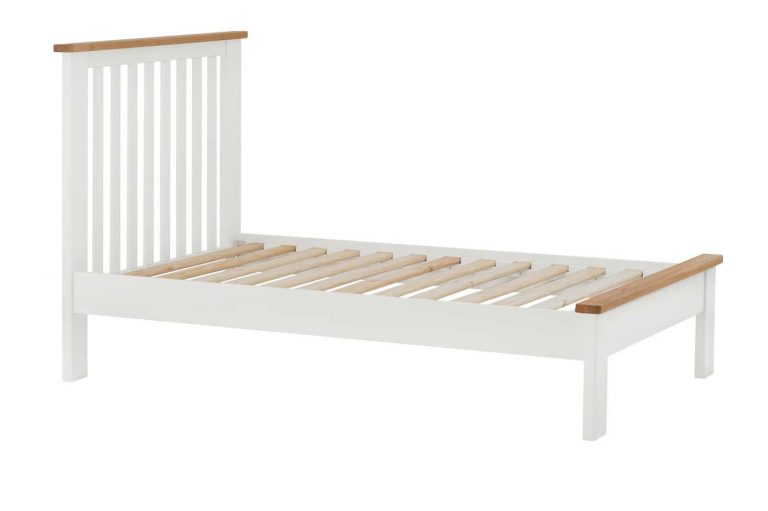 Classic Portland Painted White 3′ Single Bed