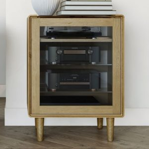 Homestyle Scandic Oak Hifi Unit