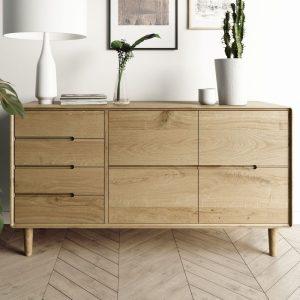 Homestyle Scandic Oak Large Sideboard