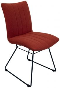 Aura Dining Chair-Burnt Orange (Pair)
