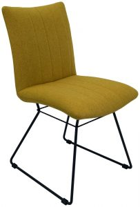 Aura Dining Chair-Saffron (Pair)