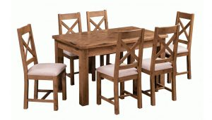 Homestyle Aztec Dining Table & 6 Chairs