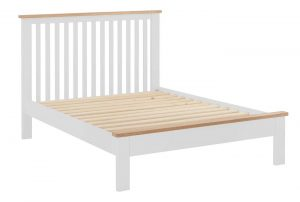 Classic Portland Painted White 5′ King Size Bed – TO CLEAR – WAS £377! (ONE ONLY)