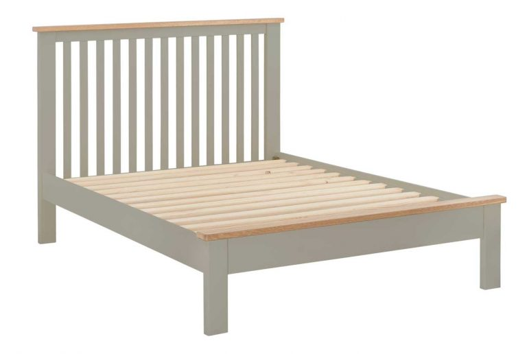 Classic Portland Painted Stone 3′ Single Bed