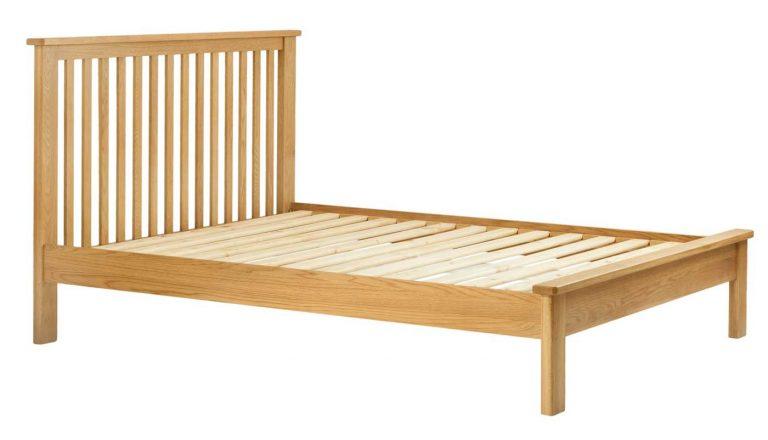 Classic Portland Oak 4'6″ Double Bed