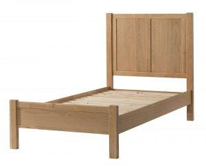 Devonshire Burford Oak 3′ Single Bed