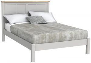 Bretagne Painted 5′ King Size Bed