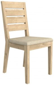 Bretagne Oak Dining Chair (Pack of 2) | Fully Assembled