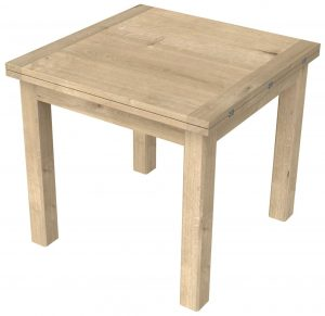 Bretagne Oak Flip Top Dining Table