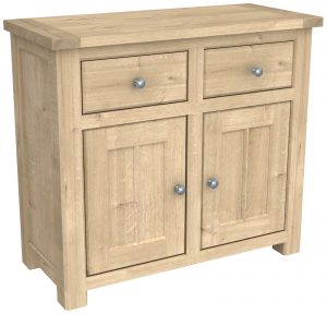 Bretagne Oak 2 Door 2 Drawer Sideboard | Fully Assembled