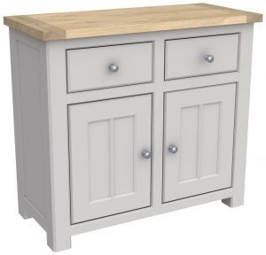 Bretagne Painted 2 Door 2 Drawer Sideboard | Fully Assembled