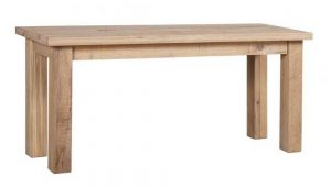 Besp-Oak Vancouver Sawn White Wash Oak Dining Bench