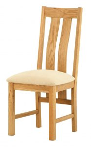 Classic Portland Oak Dining Chair (Pair)