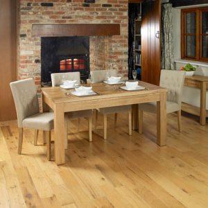 Baumhaus Mobel Oak 1.5m Extending Dining Table
