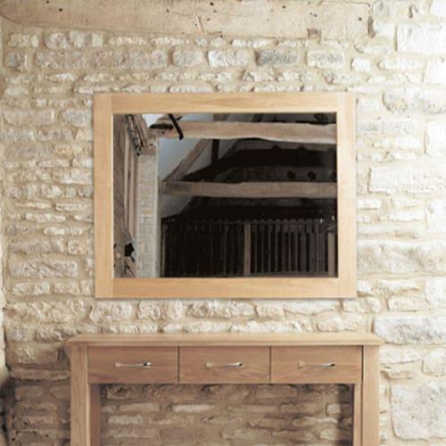 Baumhaus Mobel Oak Wall Mirror Medium