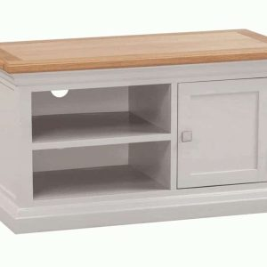 Homestyle Cotswold Grey With Oak Top 3 Door & 3 Drawer Large Sideboard   Fully Assembled