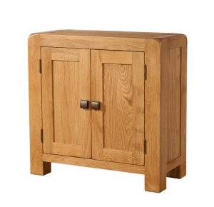 Avon Waxed Oak Small 2 Door Sideboard | Fully Assembled