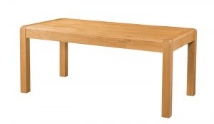 Avon Waxed Oak 1.4m Extending Dining Table