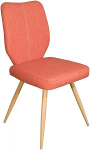 Enka Dining Chair – orange (Pair)