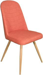 Reya Dining Chair – orange (Pair)