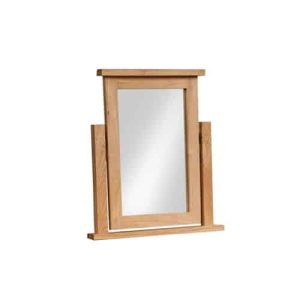 Devonshire Dorset Oak Dressing Table Mirror