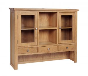 Devonshire Dorset Oak Dresser (Top Only) | Fully Assembled