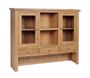 Devonshire Dorset Oak Dresser (Top Only) | Fully Assembled