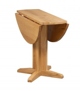 Devonshire Dorset Oak Small Drop Leaf Dining Table
