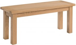 Devonshire Dorset Oak 90cm Dining Bench