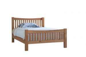 Devonshire Dorset Oak 4'6″ Double Bed