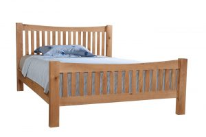 Devonshire Dorset Oak 5′ King Size Bed