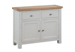 Devonshire Dorset Painted Ivory 2 Drawer 2 Door Sideboard | Fully Assembled