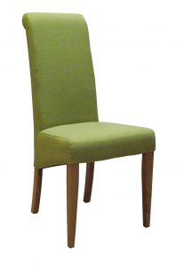 Devonshire Lime Fabric Dining Chair (Pair)