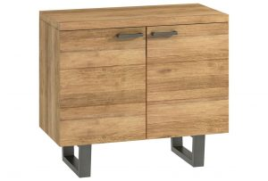 Classic Fusion Industrial Oak 2 Door Sideboard