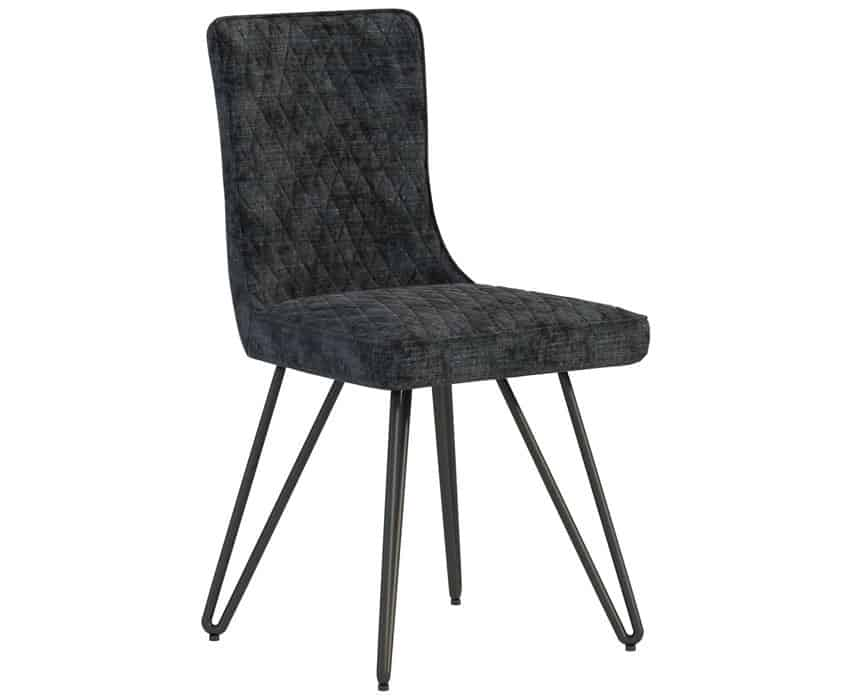 Classic Fusion Industrial Oak Dining Chair (Pair)