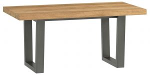 Classic Fusion Industrial Oak Coffee Table