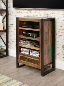 Baumhaus Urban Chic Entertainment Cabinet | Fully Assembled