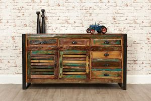 Baumhaus Urban Chic Large Sideboard | Fully Assembled