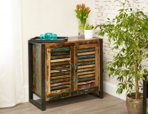 Baumhaus Urban Chic 2 Door Small Sideboard | Fully Assembled
