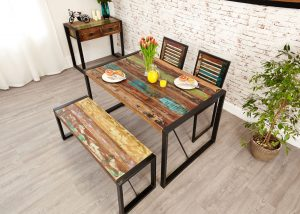 Baumhaus Urban Chic Small Dining Table 1.4M