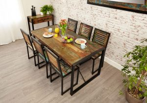 Baumhaus Urban Chic Large Dining Table 1.8M