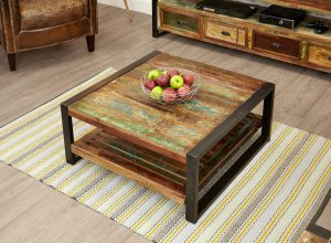Baumhaus Urban Chic Square Coffee Table