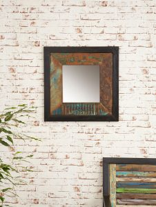 Baumhaus Urban Chic Small Mirror | Fully Assembled