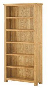 Classic Portland Oak Large Bookcase