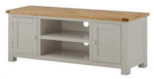 Classic Portland Large TV Cabinet-stone