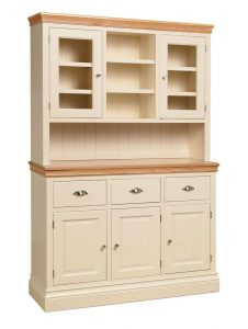 Lundy Painted Ivory Glazed Top Dresser (complete unit)