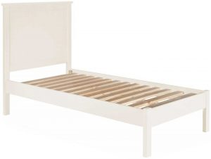 Classic Lily Painted White 3′ Single Bed